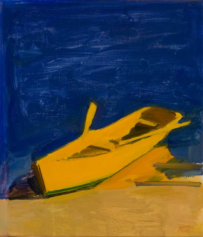 Study for Yellow Boat Evening