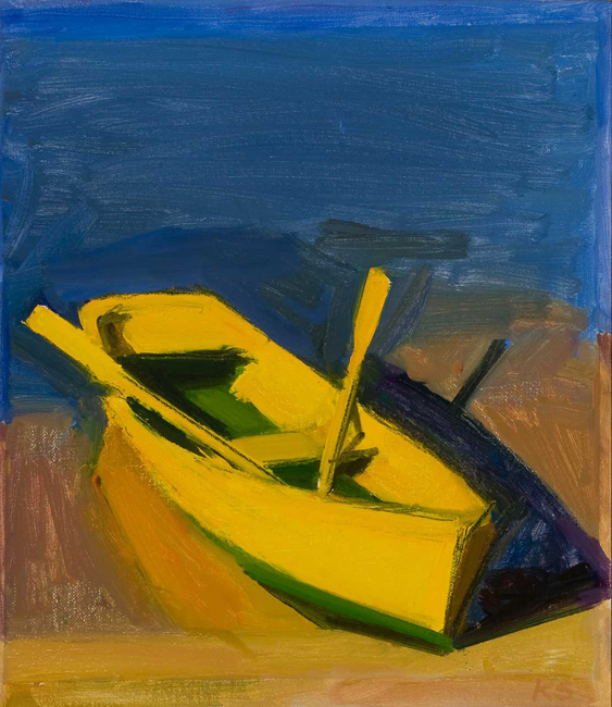 Study For Yellow Boat Morning